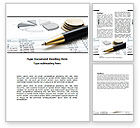 Financial/Accounting: Budgeting Word Template #06201