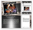 Education & Training: Back To School Pupil Word Template #06230