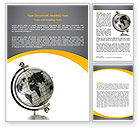Global: Geography Word Template #06246