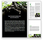 Nature & Environment: Tree Root Word Template #06268