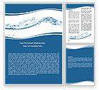 Nature & Environment: 워드 템플릿 - 물 튀김 #06280