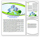 Nature & Environment: Green City Word Template #06283