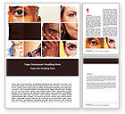 People: Human Emotions Word Template #06290