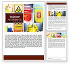 Technology, Science & Computers: Modello Word - Rischio di salute #06301