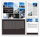 Business: Business Climbing Lifestyle Word Template #06316