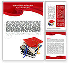Education & Training: Higher Education Word Template #06324