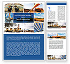 Business: Pipeline Word Template #06343