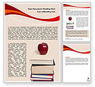 Education & Training: Book Knowledge Word Template #06355