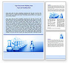 Business Concepts: Glass Chess Word Template #06365