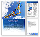 Consulting: Rope Ladder Word Template #06366