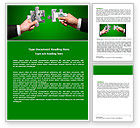 Financial/Accounting: Money Puzzles Word Template #06367