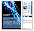 Abstract/Textures: Abstract Web Word Template #06382