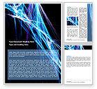 Abstract/Textures: Modèle Word de résumé du web #06382