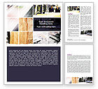 Careers/Industry: Newspaper Printing Word Template #06393