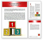 Education & Training: Be On A First Place Word Template #06398