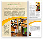 Careers/Industry: Absolutely Secure Word Template #06413