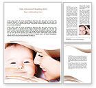 People: Baby Smile Word Template #06456