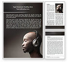 Art & Entertainment: Easy Listening Word Template #06458