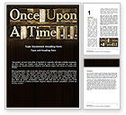 Education & Training: Fairy Story Word Template #06468