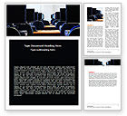 Education & Training: Computer Workstations Word Template #06494