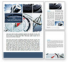 Business Concepts: Navigation Instruments Word Template #06497