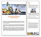Cars/Transportation: Shipyard Word Template #06499