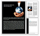 Business Concepts: World Business Style Word Template #06500