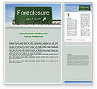 Financial/Accounting: Foreclosure Word Template #06502