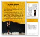 Art & Entertainment: Talent Show Word Template #06505