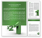 Education & Training: Countdown Word Template #06515
