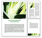 Nature & Environment: Lily Petals Word Template #06551