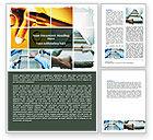 Careers/Industry: Unlocking Dreams Word Template #06568