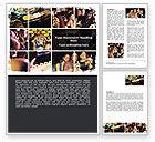 People: Luxusleben Word Vorlage #06580
