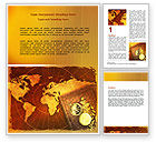 Education & Training: Historical Exploration Word Template #06590