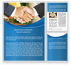 Business: Business Deal And Agreement Word Template #06596