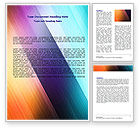 Abstract/Textures: Abstract Rainbow Word Template #06673