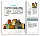 Careers/Industry: Luggage Word Template #06688