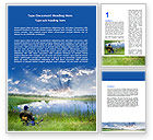 Sports: Fisher Word Template #06717