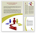 Business Concepts: Life Choices Word Template #06753