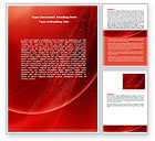 Abstract/Textures: Red Shimmer Word Template #06762