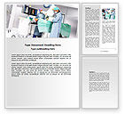 Medical: Operation In Progress Word Template #06775