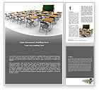Education & Training: Class Room Word Template #06777
