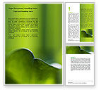 Nature & Environment: Leaf Word Template #06810