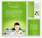 Education & Training: Home Classes Word Template #06813