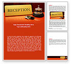 Careers/Industry: Hotel Reception Word Template #06866