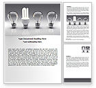 Technology, Science & Computers: Economy Light Bulb Word Template #06880