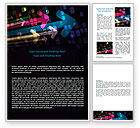 Business Concepts: Colorful Arrows Word Template #06881