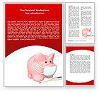 Medical: Modèle Word de grippe porcine #06893