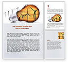 Careers/Industry: Energy Saving Technologies Word Template #06908