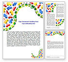 Education & Training: Childish Car Theme Word Template #06909